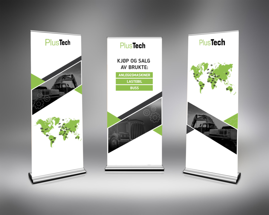 MARKEDSMATERIELL FOR PLUSTECH